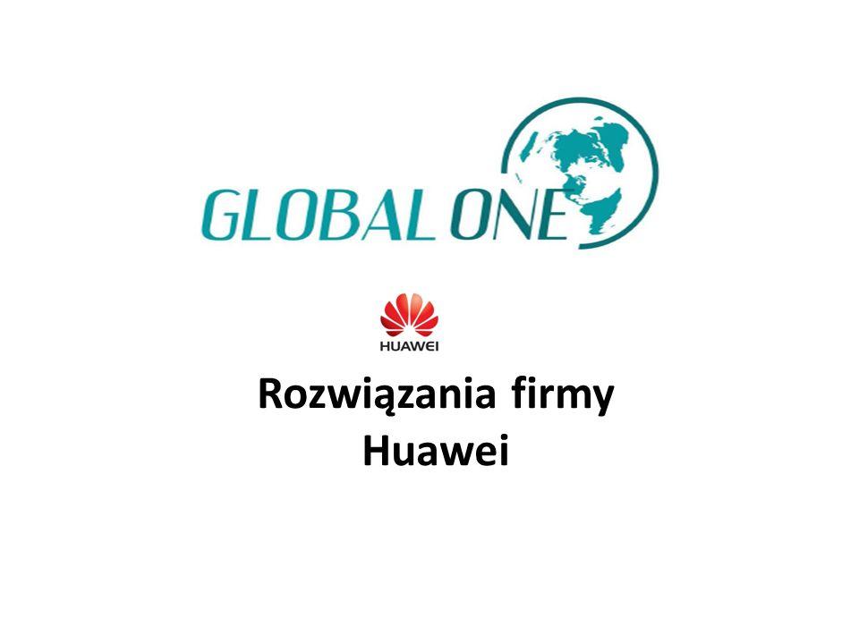 Rozwiązania firmy Huawei
