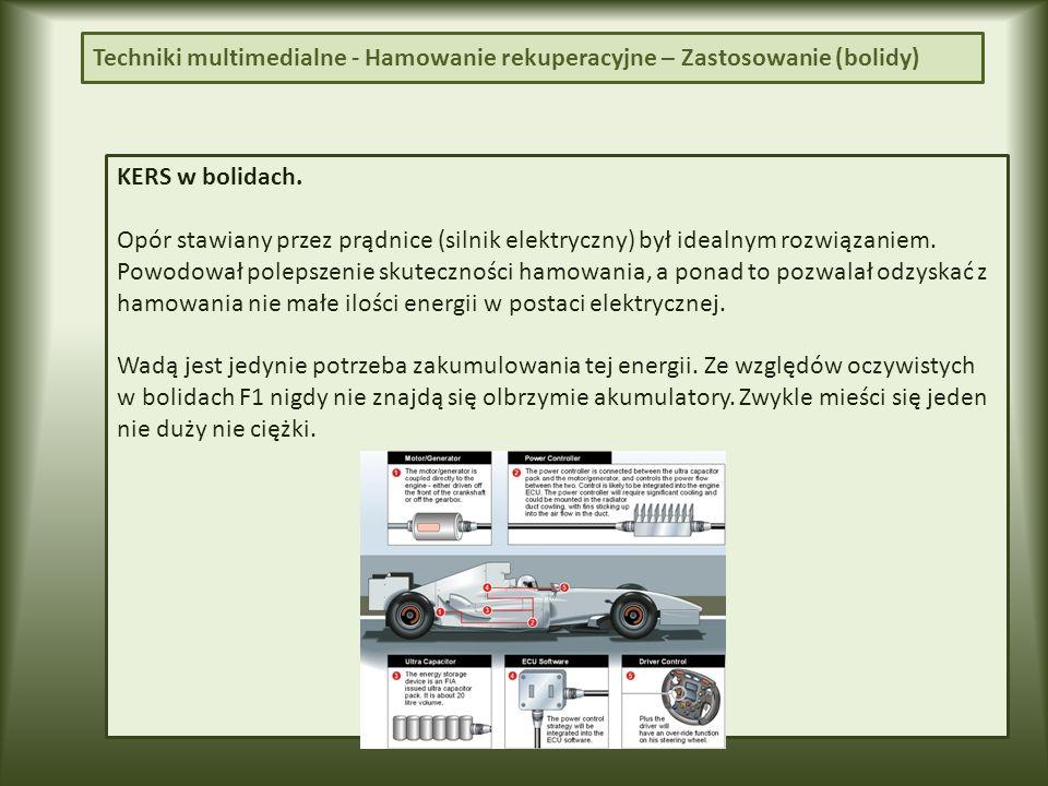 Techniki multimedialne - Hamowanie rekuperacyjne – Sam.