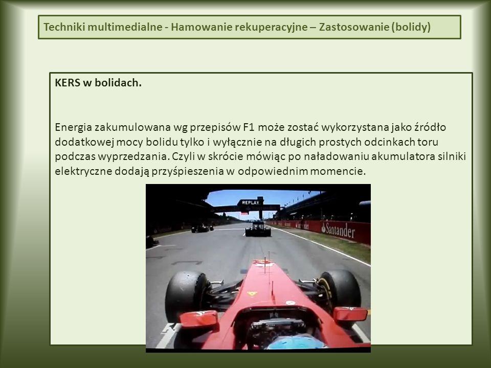 Techniki multimedialne - Hamowanie rekuperacyjne – Tesla (odgłos) Odgłos wydawany przez Tesla Roadster podczas ruszania.