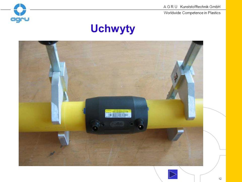 A G R U Kunststofftechnik GmbH Worldwide Competence in Plastics 12 Uchwyty