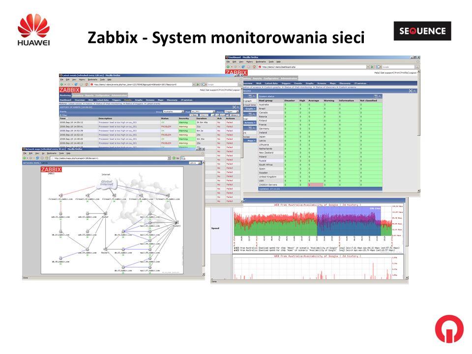 Zabbix - System monitorowania sieci