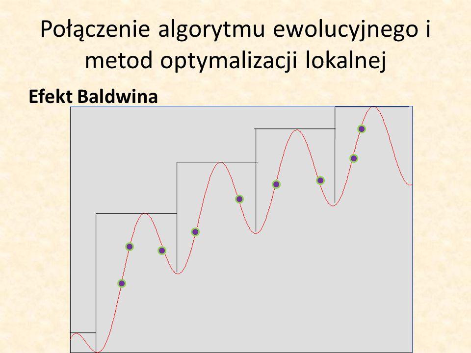 Połączenie algorytmu ewolucyjnego i metod optymalizacji lokalnej Efekt Baldwina