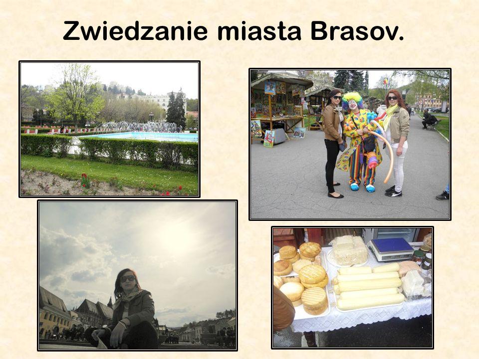 Zwiedzanie miasta Brasov.