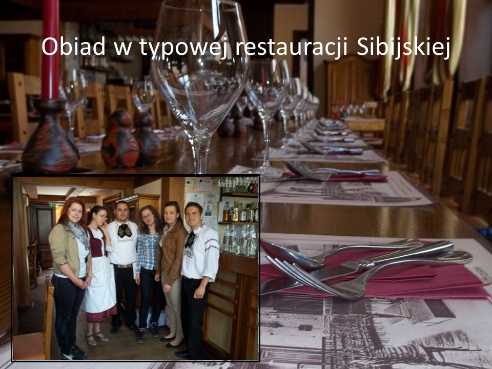 Obiad w typowej restauracji Sibijskiej