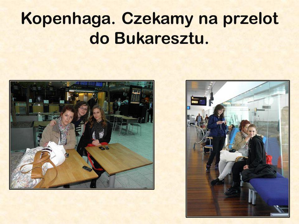 Kopenhaga. Czekamy na przelot do Bukaresztu.