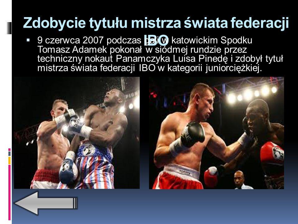 Walka o tytuł mistrza świata federacji WBC