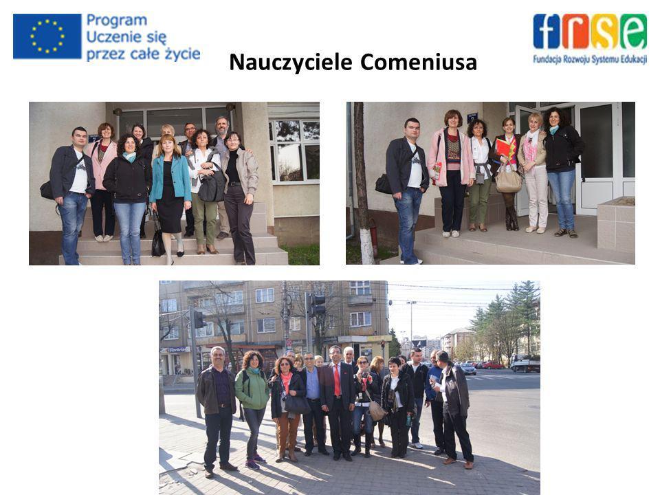 Nauczyciele Comeniusa