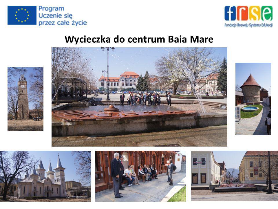 Wycieczka do centrum Baia Mare