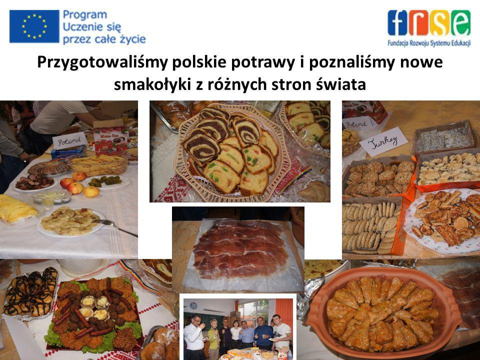 Przygotowaliśmy polskie potrawy i poznaliśmy nowe smakołyki z różnych stron świata