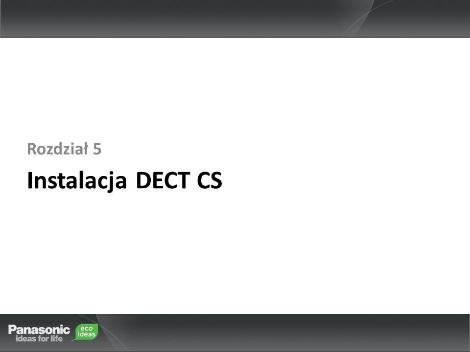 Instalacja DECT CS Rozdział 5