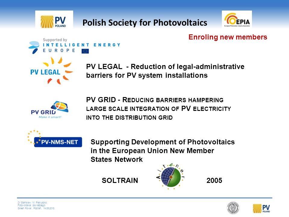 Dr Stanislaw M. Pietruszko Fotowoltaika: dla każdego Green Power, Poznań, 14.05.2013 Laboratorium testowe