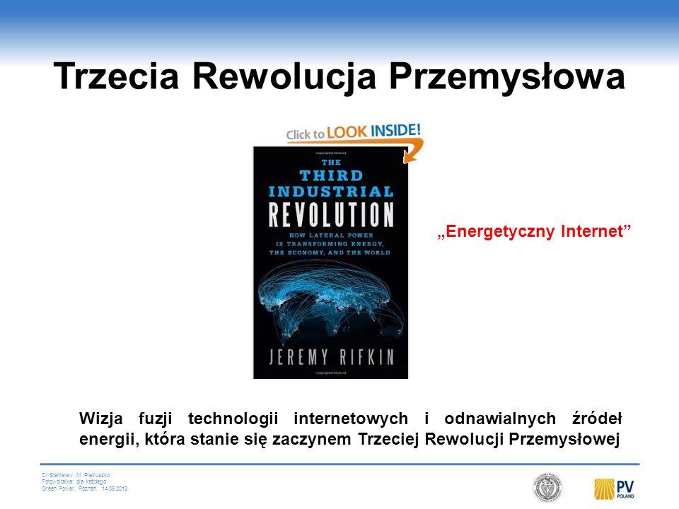 Dr Stanislaw M. Pietruszko Fotowoltaika: dla każdego Green Power, Poznań, 14.05.2013