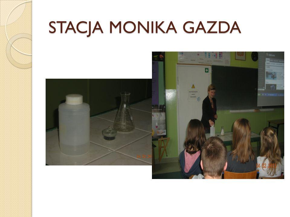 STACJA MONIKA GAZDA