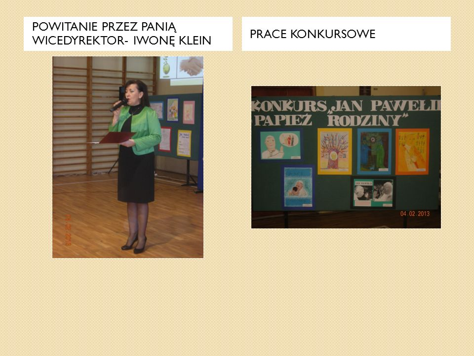 Pani Agnieszka Banasiak omawia wyniki maratonu