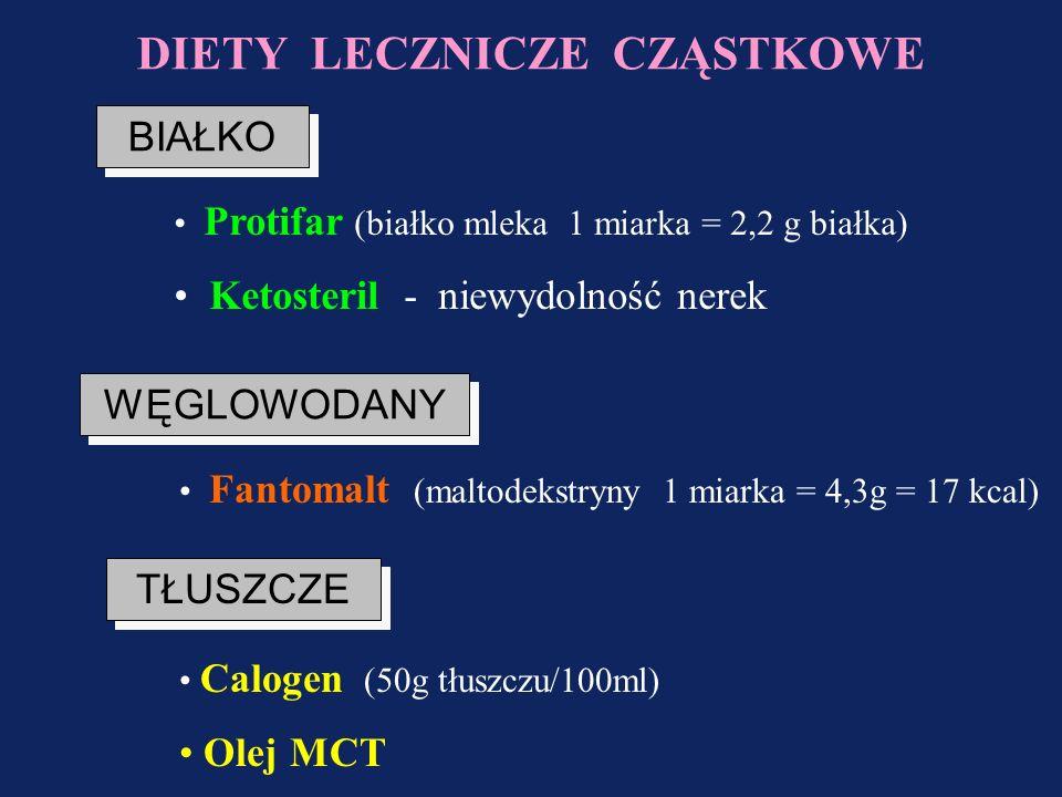 Preparaty stosowane w chorobach metabolicznych GalaktozemiaFruktozemiaFenyloketonuria Wszystkie preparaty bezlaktozowe Wszystkie preparaty bez fruktoz