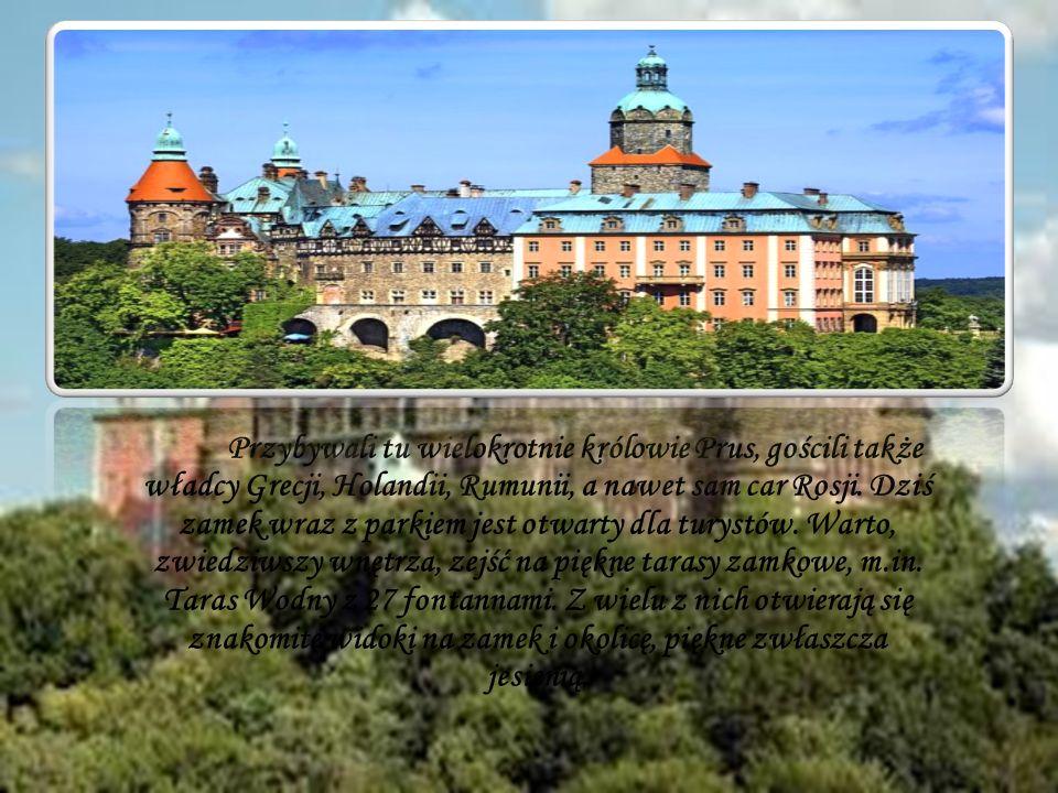 Przybywali tu wielokrotnie królowie Prus, gościli także władcy Grecji, Holandii, Rumunii, a nawet sam car Rosji. Dziś zamek wraz z parkiem jest otwart