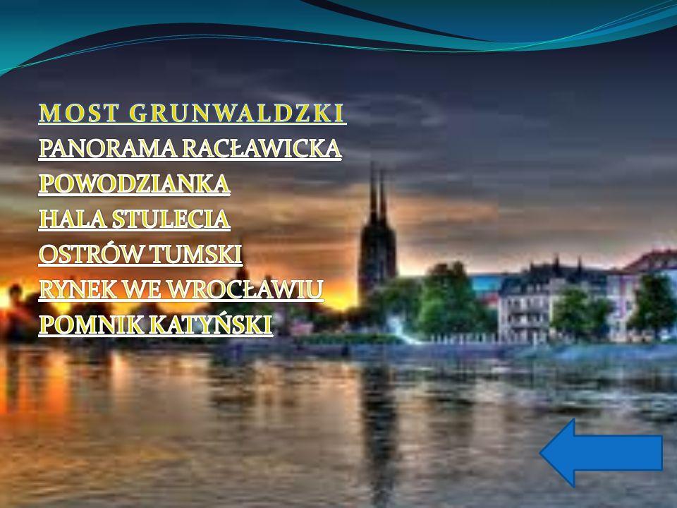 Potężny Most Grunwaldzki to jedna z atrakcji Wrocławia.
