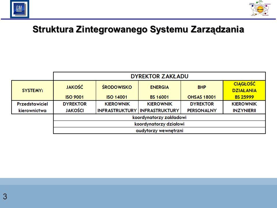 3 Struktura Zintegrowanego Systemu Zarządzania