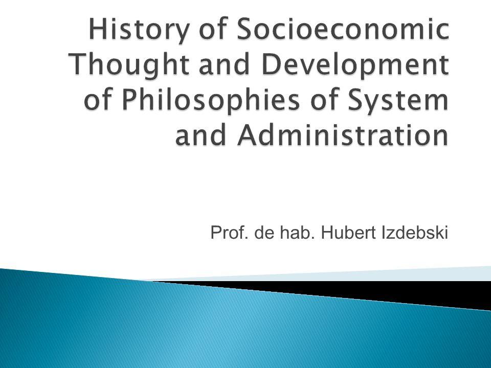 Prof. de hab. Hubert Izdebski