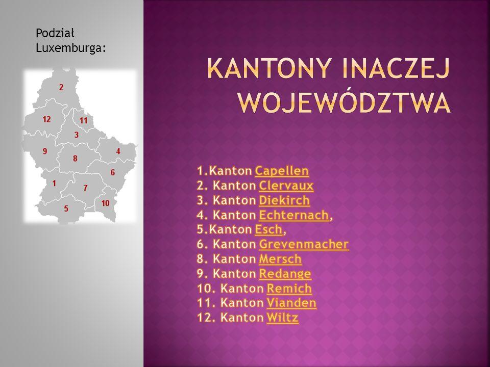 Podział Luxemburga: