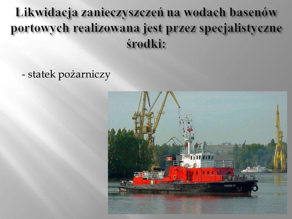 - statek pożarniczy