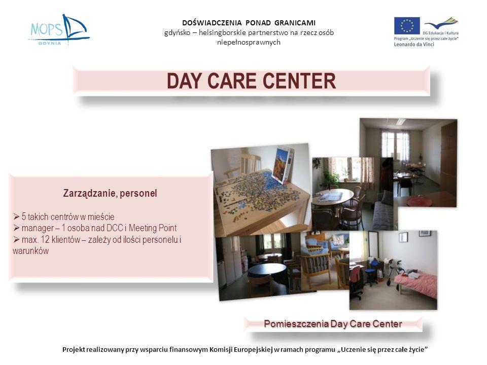 DOŚWIADCZENIA PONAD GRANICAMI gdyńsko – helsingborskie partnerstwo na rzecz osób niepełnosprawnych Projekt realizowany przy wsparciu finansowym Komisj