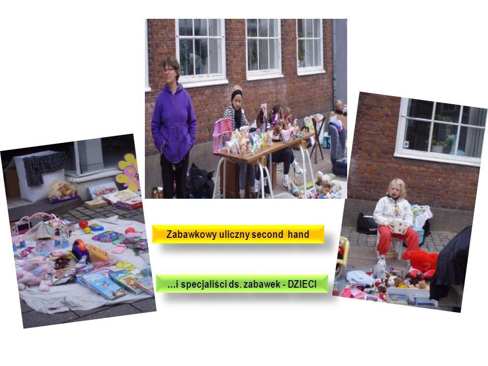 Zabawkowy uliczny second hand …i specjaliści ds. zabawek - DZIECI