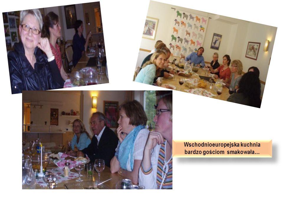 Wschodnioeuropejska kuchnia bardzo gościom smakowała…