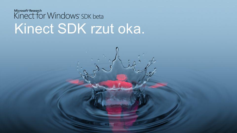 Kinect SDK rzut oka.