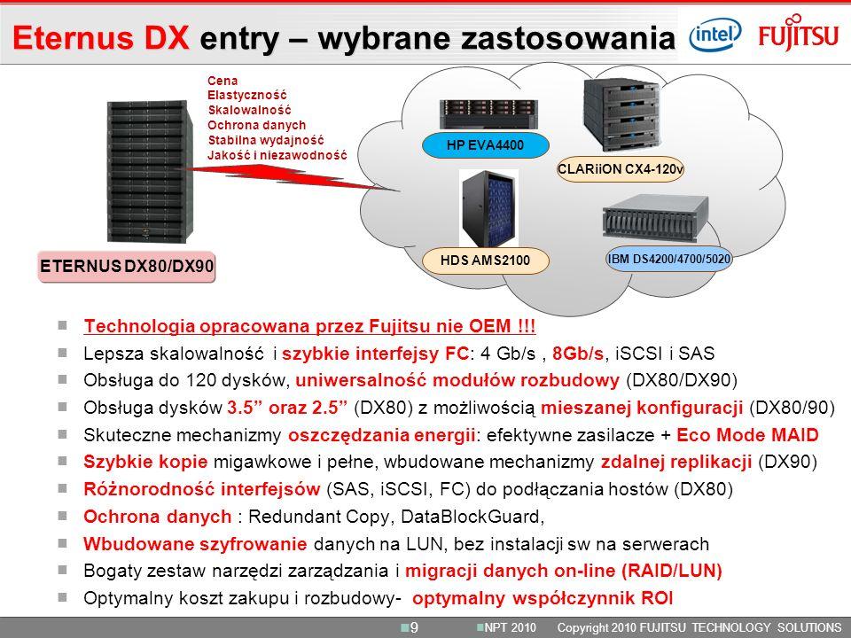 CLARiiON CX4-120v ETERNUS DX80/DX90 HP EVA4400 IBM DS4200/4700/5020 HDS AMS2100 Technologia opracowana przez Fujitsu nie OEM !!.