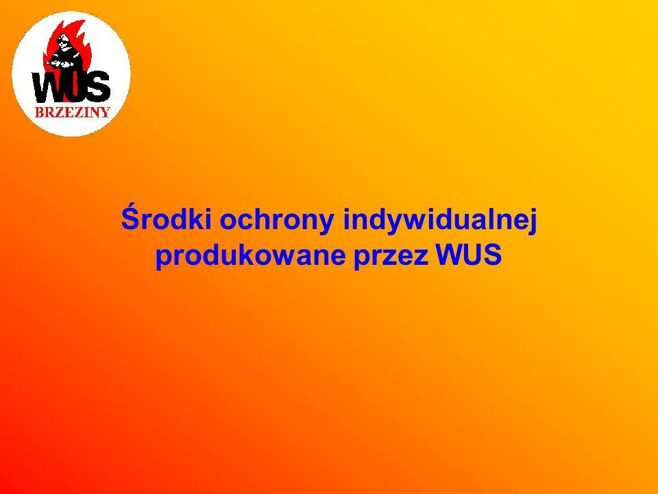 Środki ochrony indywidualnej produkowane przez WUS