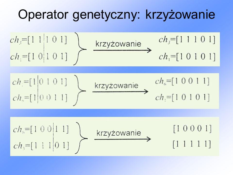 Operator genetyczny: krzyżowanie