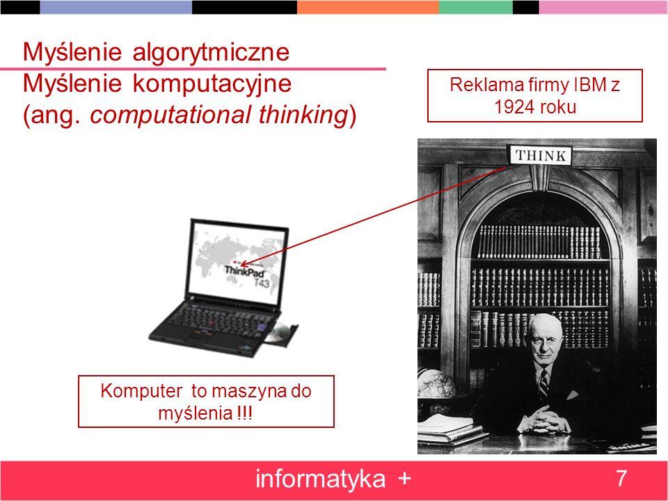 Przeszukiwanie z nawrotami: rozmieszczanie hetmanów na szachownicy informatyka + 58 Drzewo poszukiwania ustawień: Ustawienie 4 hetmanów Oś symetrii drzewa Odbicie symetryczne rozwiązania