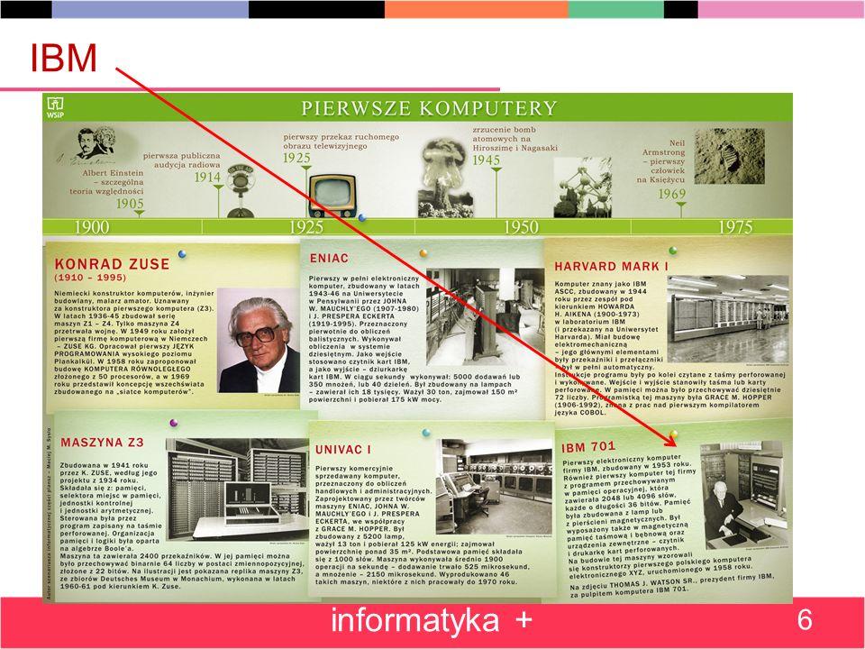 IBM informatyka + 6