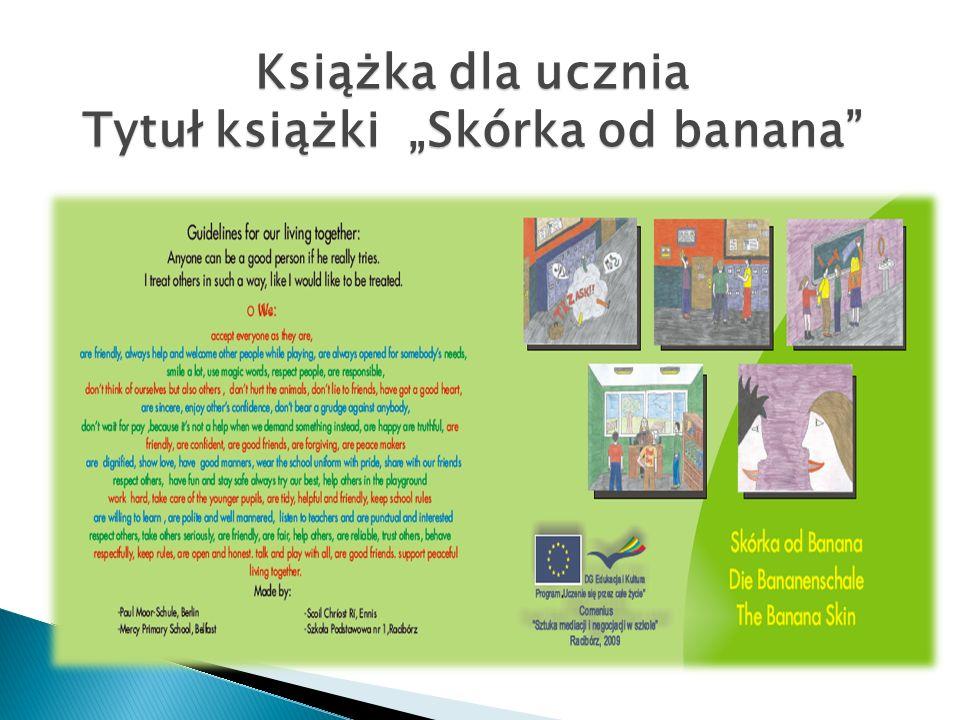 Książka dla ucznia Tytuł książki Skórka od banana