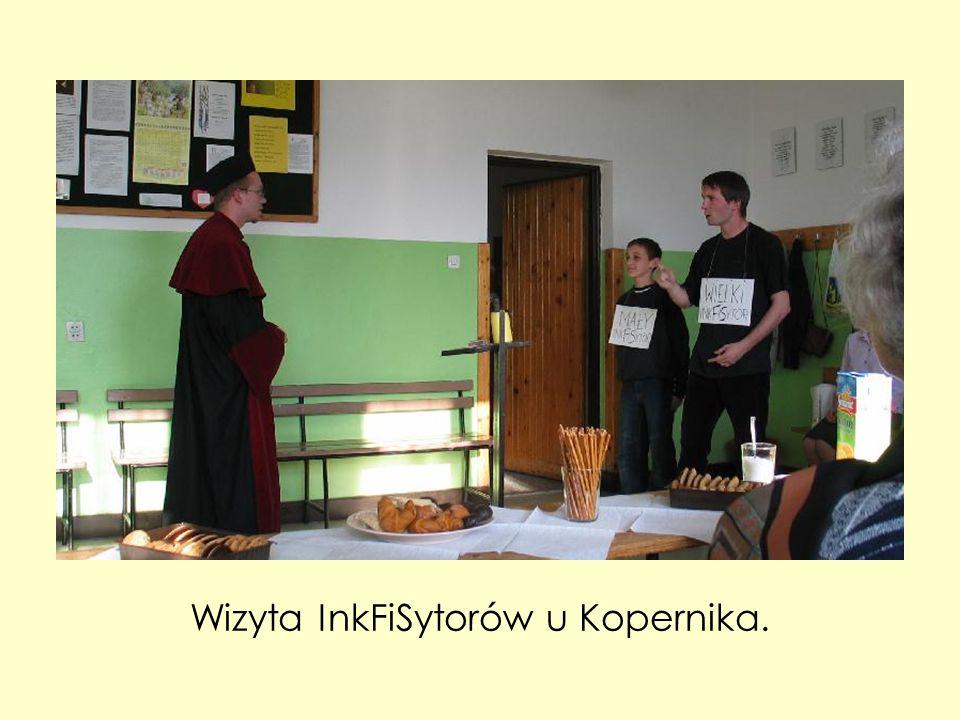 Wizyta InkFiSytorów u Kopernika.