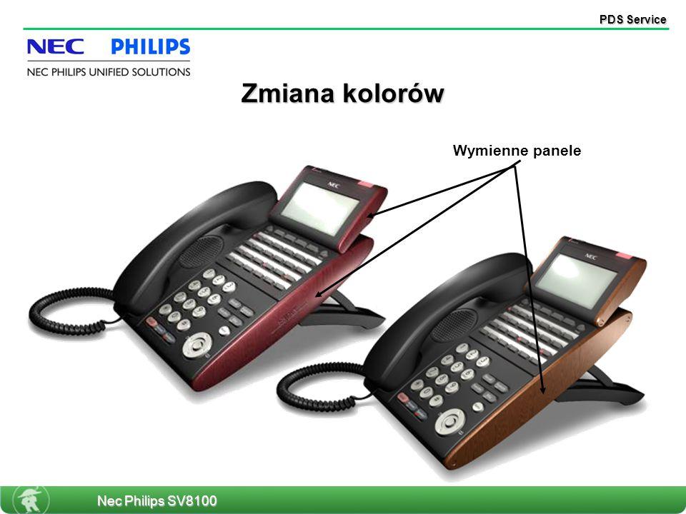 PDS Service Wymienne panele Zmiana kolorów Nec Philips SV8100