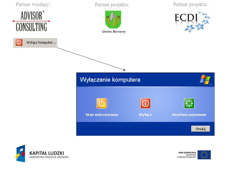 Partner wiodący:Partner projektu: Gmina Barciany