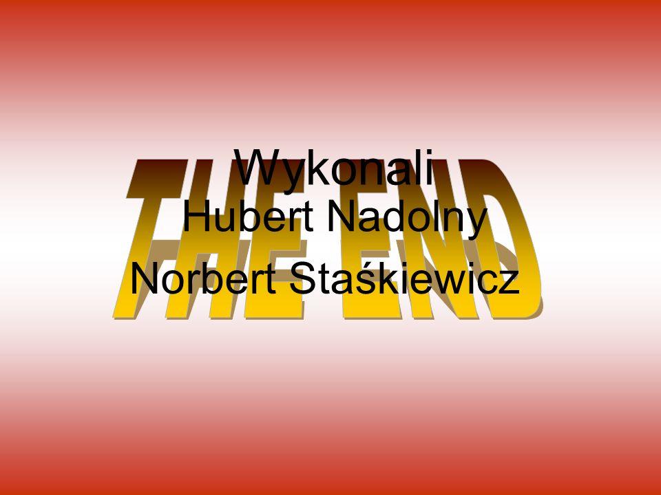 Wykonali Hubert Nadolny Norbert Staśkiewicz