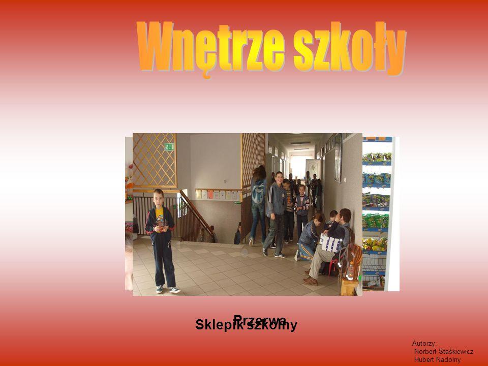 Sklepik szkolny Przerwa Autorzy: Norbert Staśkiewicz Hubert Nadolny