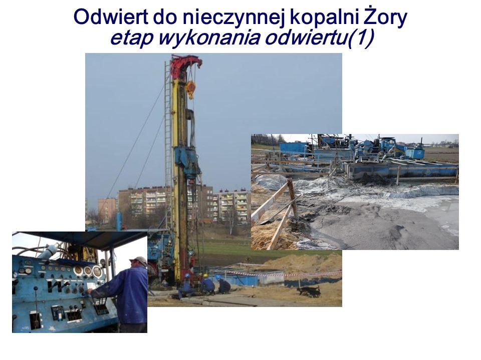 Odwiert do nieczynnej kopalni Żory etap wykonania odwiertu(1)
