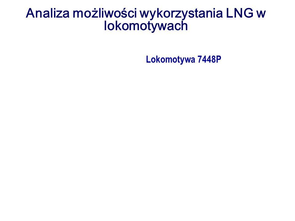 Analiza możliwości wykorzystania LNG w lokomotywach Lokomotywa 7448P