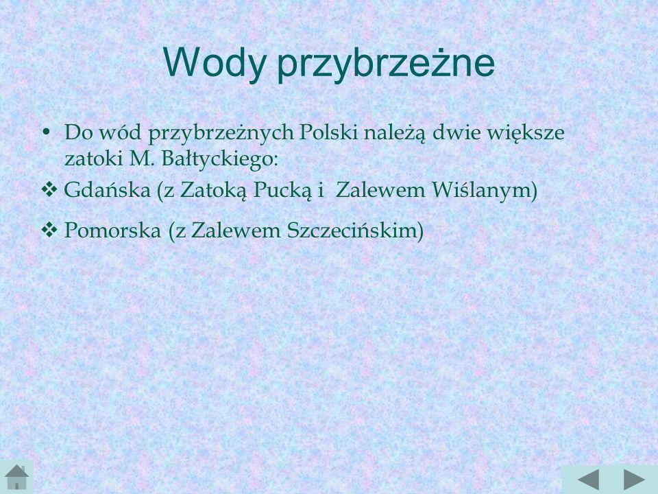 Wody w Polsce układ wód w Polsce ukształtował się w młodszym trzeciorzędzie i czwartorzędzie Polska nie jest krajem zasobnym w wodę; powodują to zarów