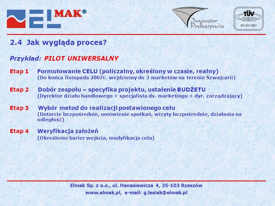 Elmak Sp.z o.o., ul.