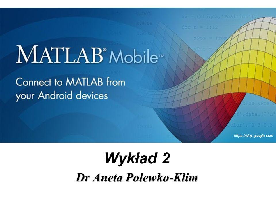 Wykład 2 Dr Aneta Polewko-Klim https://play.google.com