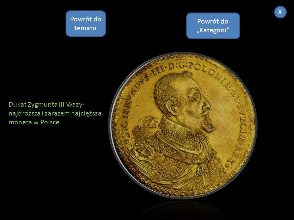 Denar Bolesława Chrobrego -najstarsza i zarazem najrzadsza moneta w historii Polski Powrót do Kategorii X Powrót do tematu