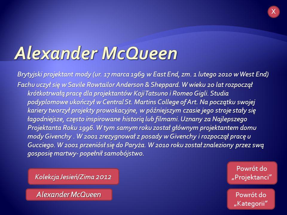 Alexander McQueen Karl Lagerfeld X
