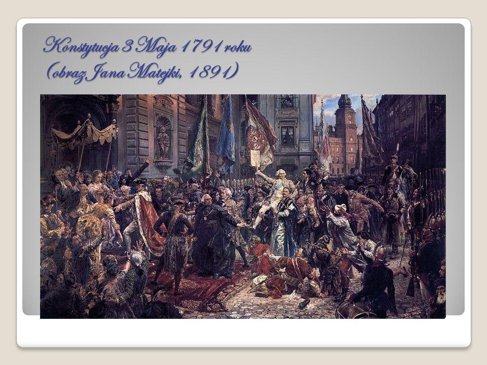 Konstytucja 3 Maja 1791 roku (obraz Jana Matejki, 1891)