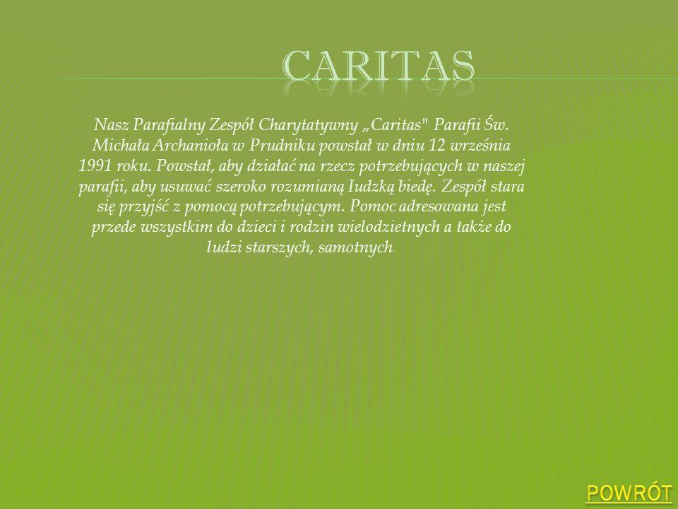 Nasz Parafialny Zespół Charytatywny Caritas