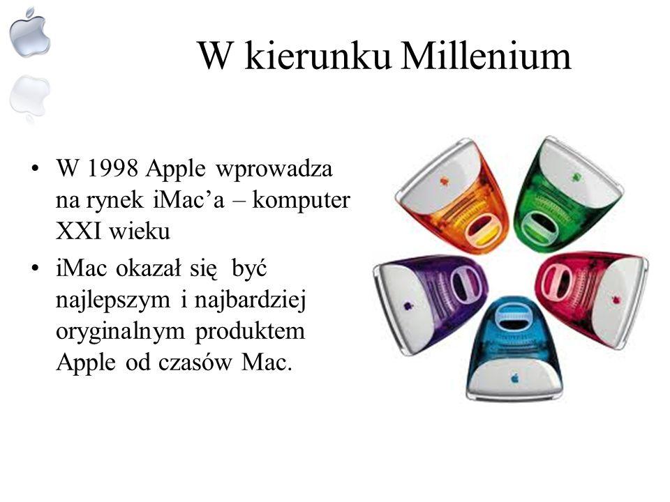 Lata1994-1997 – w kierunku rewolucyjnego myślenia W drugiej połowie lat 90. Jobs poszukiwał nadal nowego softwaru do swoich komputerów Macintosh W1997